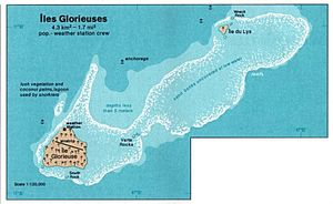 Glorioso Islands - Image: Iles glorieuses 76