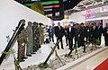 Ilham Aliyev viewed 3rd Azerbaijan International Defense Exhibition ADEX 2018 20.jpg