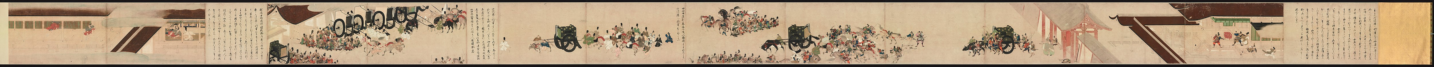 Illustrated Tale of the Heiji Civil War: Scroll of the Imperial Visit to Rokuhara