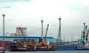 Port of Iloilo - Loboc Wharf of the Iloilo International Port