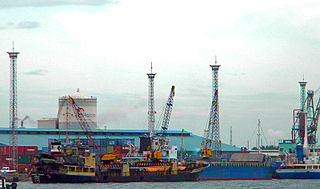 Port of Iloilo Port in Philippines