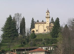 Oltrona di San Mamette - View of the Sanctuary