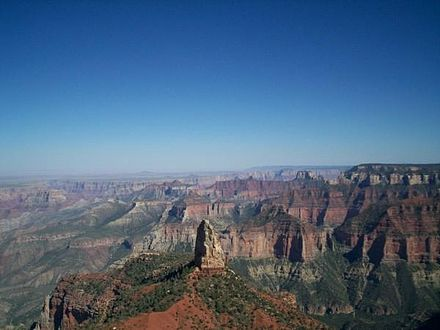 North Rim of the Grand Canyon National Park, Arizona. Imperial Point Grand Canyon.jpg