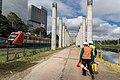 Início de obras Estação de Integração Morumbi - Monotrilho - Linha 9 CPTM (Marginal Pinheiros) (40300991461).jpg