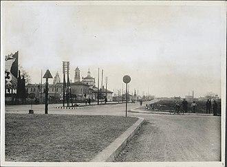 Quartiere Varesina - Image: Incrocio ponte anni 30 40