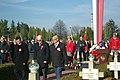 Independence Day 2018 at Central Cemetery in Sanok 02 (Stanisław Chęć, Zbigniew Daszyk, Edward Olejko).jpg