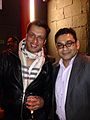 Indian Film Director Madhur Bhandarkar and Raaj Rahhi in New York.jpg