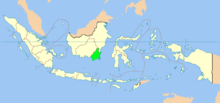 South Kalimantan province in Indonesia