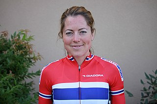 Ingrid Lorvik Norwegian cyclist