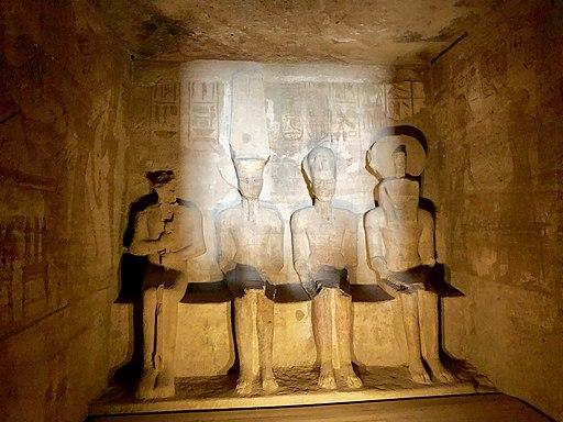 Inner Chamber, The Great Temple of Ramses II, Abu Simbel, AG, EGY (48017056106)