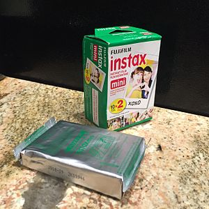 Instax - Packs of Instax Mini film