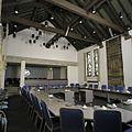 Interieur, overzicht van de raadzaal - Zwijndrecht - 20386238 - RCE.jpg