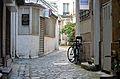 Interior courtyard to 137 Rue de Temple, Paris May 2014.jpg