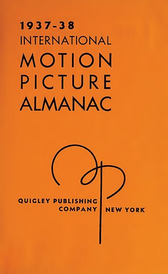 International Television & Video Almanac - Image: International Motion Picture Almanac 1937 38