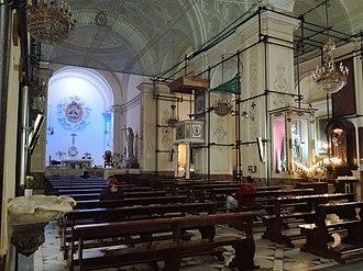 Santa Maria delle Grazie a Toledo - Image: Interno Grazie a Toledo