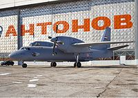 Iraqi Air Force Antonov An-32B Belyakov.jpg