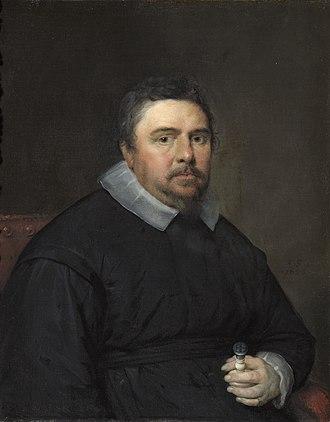 Isaac Bargrave - A 1636 painting of Isaac Bargrave by Cornelis Janssens van Ceulen