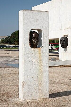 Israel Pinheiro da Silva - Israel Pinheiro monument in Brasília