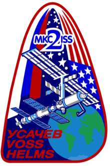 Description de l'image  Iss expedition 2 mission patch.png.
