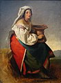 Italian woman (drawing) by T.Neff (1836, GTG).jpg