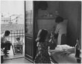 Italy. Today many an Italian family comprising 4,5 and 7 persons lives in one room homes with inadequate plumbing... - NARA - 541720.tif