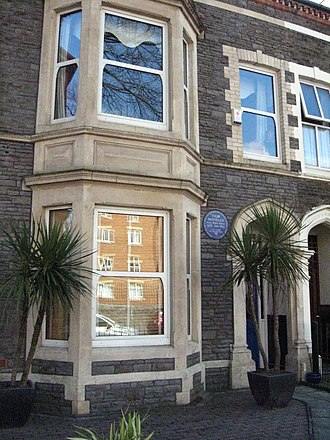 Ivor Novello - Image: Ivor Novello's birthplace in Cardiff