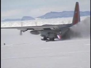 File:JATO takeoff from snow, Hercules,109th Airlift Wing.ogv