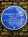 JEROME K JEROME 1859-1927 Author Wrote 'Three Men in a Boat' while living here at flat 104.jpg