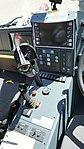 JMSDF Rosenbauer Panther 6x6(41-4125) Center Console at Maizuru Air Station July 26, 2015.jpg