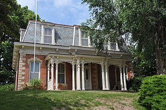 National Register of Historic Places listings in Atchison County, Missouri - Image: JOHN DICKINSON DOPF MANSION, ROCK PORT, ATCHISON COUNTY, MO