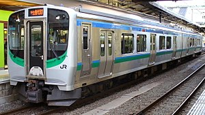 Sendai Airport Line - Image: JRE E721 500