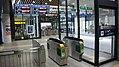 JR Shin-Hakodate-Hokuto Station Conventional turnstiles.jpg