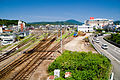JR West Toyooka railway in Hyogo Prefecture.jpg