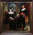 Jacob jordaens, ritratto di govaert van surpele (forse) e la moglie, 1636-38, 01.jpg