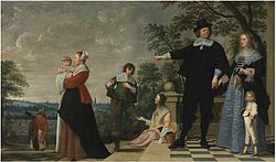 Jacob van Oost: Portrait of a Bruges family