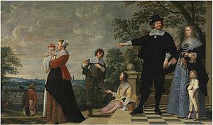 Jacob van Oost - Portrait of a Bruges family