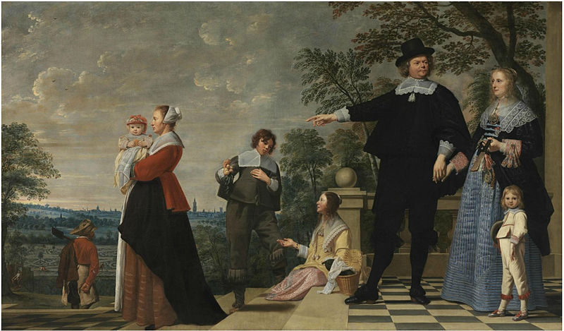 File:Jacob van Oost (I) - Portrait of a Bruges Family.jpg