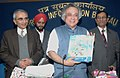 "Jairam Ramesh releasing the Biodiversity brochure -""Achieving Biodiversity Target 2010 India's Contributions, in New Delhi. The Secretary, Ministry of Environment and Forests.jpg"