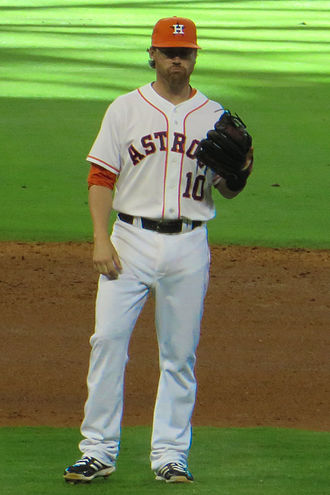 Jake Elmore - Elmore with the Houston Astros in 2013.