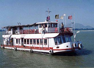 River cruise - River cruise on Brahmaputra river