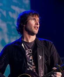 James Blunt playing in Reading 2008