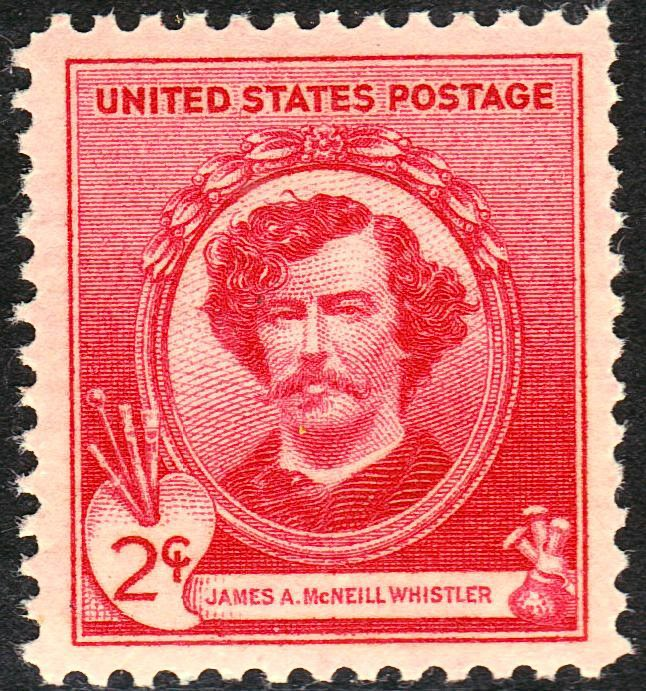 James A M Whistler 1940 Issue-2c