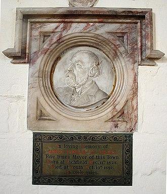 James Fowler (architect) - Image: James Fowler memorial geograph.org.uk 860338