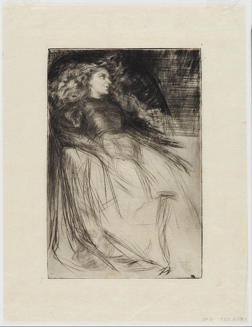 James McNeill Whistler - Weary - Google Art Project