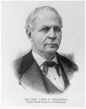 Missouri's 9th congressional district - Image: James O. Broadhead