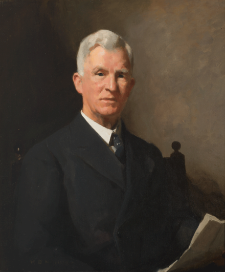 Parliament House portrait of Scullin by William Beckwith McInnes, 1938 James Scullin, 1938 (William McInnes).png
