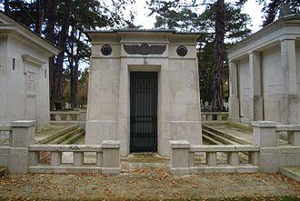 Jamsetji Tata - Mausoleum of Jamsetji Tata in Brookwood Cemetery