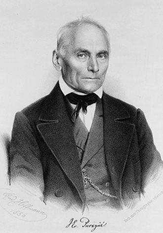 Jan Evangelista Purkyně - Purkyne in 1856