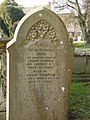 Jane Cooper gravestone at St Mary's Tetbury. - geograph.org.uk - 1521409.jpg