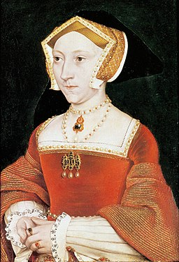 Jane Seymour. Workshop of Hans Holbein the Younger